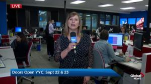 Global Calgary Doors Open YYC: The newsroom